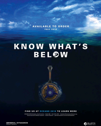 MT Oct-18#13  2018 KNOW WHAT'S  BEL  W FIND US AT OCEANS 2018 TO LEARN