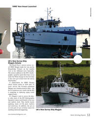 MT Oct-18#53 VIMS' New Vessel Launched Image: The Glosten Associates UK's