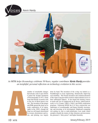MT Jan-19#10 Kevin Hardy oices Photo: Oceanology International As MTR