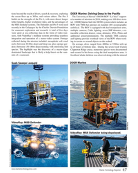 MT Jan-19#47 tions beyond the reach of divers, search & recovery