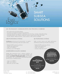 MT Jan-19#3rd Cover SMART SUBSEA SOLUTIONS S2C TECHNOLOGY: COMMUNICATION AND