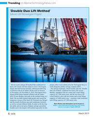 MT Mar-19#8 . In order to lift the frig- https://www.marinetechnologynews