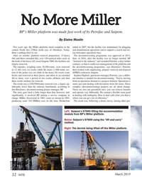 MT Mar-19#32 No More Miller BP's Miller platform was made fast work of