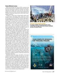 MT Mar-19#59 Cost-ef?  cient coms While the Norwegian AUV lab at NTNU
