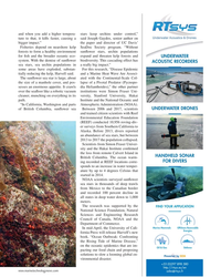 MT Apr-19#23 . Marine MammalsOffshore Renewable  In mid-April, the