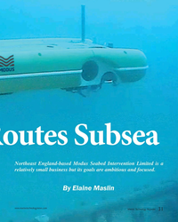 MT Apr-19#31 Routes Subsea  Northeast England-based Modus Seabed