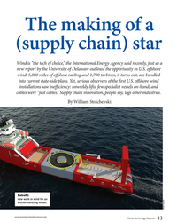 "MT Apr-19#43 The making of a  (supply chain) star Wind is ""the tech of"