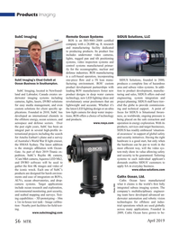 MT Apr-19#56 Products Imaging SubC Imaging Remote Ocean Systems SIDUS
