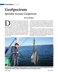 MT Jun-19#18 Tech Notes Canada GeoSpectrum   Specialist Acoustic