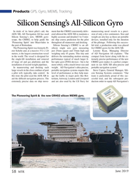 MT Jun-19#58 Products GPS, Gyro, MEMS, Tracking Silicon Sensing's