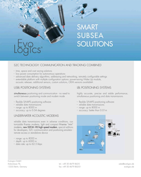 MT Jun-19#3rd Cover SMART SUBSEA SOLUTIONS S2C TECHNOLOGY: COMMUNICATION AND
