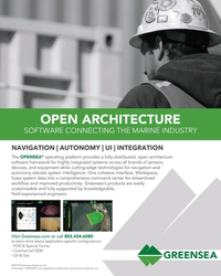 MT Jul-19#13 OPEN ARCHITECTURE SOFTWARE CONNECTING THE MARINE INDUSTRY NA