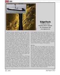 MT Jul-19#32 MTR 100 EdgeTech  W. Wareham, Mass. President/CEO: R.