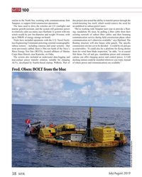 MT Jul-19#38 MTR 100 station in the North Sea, working with communication