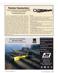 MT Jul-19#39 Fischer Connectors  Saint-Prex, Switzerland, CEO: Jonathan