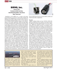 MT Jul-19#62  VAC. In 2019, BIRNS developed new custom titani- and hybrids