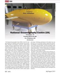 MT Jul-19#64 MTR 100 National Oceanography Centre National Oceanography