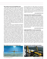 MT Jul-19#69  ROV support; and an operations  New subsea survey and installation