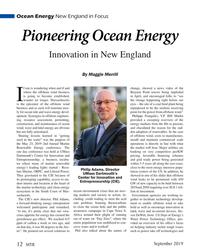 MT Sep-19#12 Ocean Energy New England in Focus Pioneering Ocean Energy In