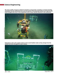 MT Sep-19#26 Subsea Engineering The micro pro?  ler measures sediment