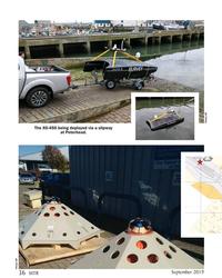 MT Sep-19#36 Photos: BP The XO-450 being deployed via a slipway  at