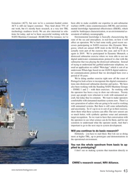 MT Sep-19#43  synthetic aperture sonar and automatic  target recognition
