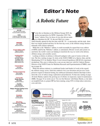 MT Sep-19#4 Editor's Note A Robotic Future Image: Copyright STEMM-CCS