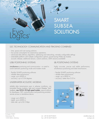 MT Sep-19#3rd Cover SMART SUBSEA SOLUTIONS S2C TECHNOLOGY: COMMUNICATION AND