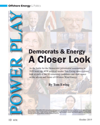 MT Oct-19#10 Offshore Energy & Politics Democrats & Energy A Closer