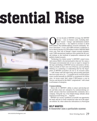 MT Oct-19#29 istential Rise ver our decades of SINTEF coverage, the