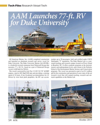 MT Oct-19#54 Tech Files Research Vessel Tech AAM Launches 77-f  .