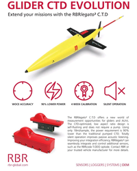 MT Oct-19#4th Cover GLIDER CTD EVOLUTION Extend your missions with the RBRlegato