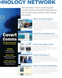MT Nov-19#59  brand exposure to the global underwater  community.  MarineTechnology