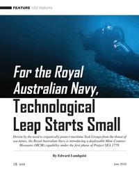 MT Jun-20#18  the Royal  Australian Navy,  Technological  Leap Starts
