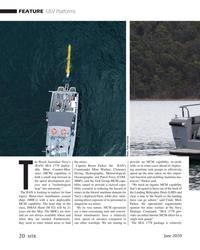 MT Jun-20#20  Australia he Royal Australian Navy's  the mines.   provide