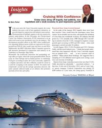 MP Q1-13#10  the rating agency Standard &  Oceania Cruises? MARINA at Miami10