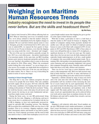 MP Q1-16#16 INSIGHTS Weighing in on Maritime  Human Resources Trends Ind