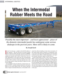 MP Q1-17#60 INTERMODAL LOGISTICS When the Intermodal  Rubber Meets the