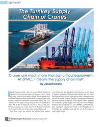 MP Q3-17#50 EQUIPMENT The Turnkey Supply The Turnkey Supply  Chain of