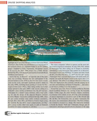 MP Q1-18#34  to executives such as Mr. Donald and  the new cruise terminal