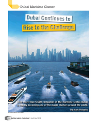 MP Q1-18#18 Dubai Maritime Cluster With more than 5,500 companies in