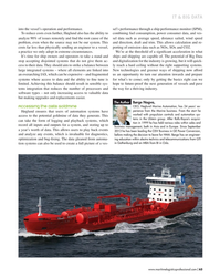 MP Q1-18#63 IT & BIG DATA into the vessel's operation and performance.