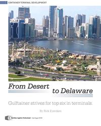 MP Q3-18#26  Desert          to Delaware Gulftainer strives for
