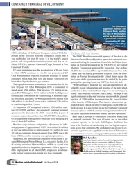 MP Q3-18#32   Edgemoor plant on the  Delaware River, sold to  the Port