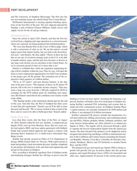 MP Q3-18#38  The University of Southern Mississippi. The Port also has