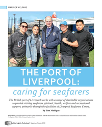 MP Q3-18#46 MARINER WELFARE THE PORT OF  LIVERPOOL:  caring for