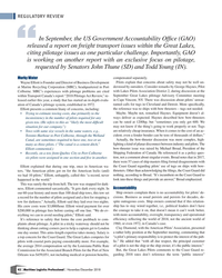 MP Q4-18#42 REGULATORY REVIEW In September, the US Government Accountabi
