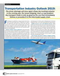 MP Q1-19#14  will put pressure on insurance  years: Too much freight