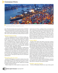 MP Q1-19#30 Container Ports Credit: Port of Virginia  The Port of