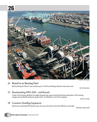 MP Q1-19#6  and safety.      Edited By Joseph Keefe 6   Maritime Logistics